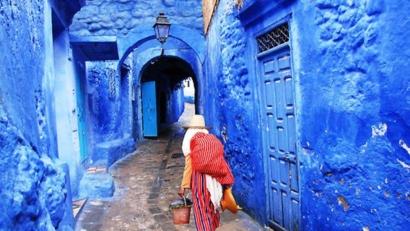 Bleu Town Morocco